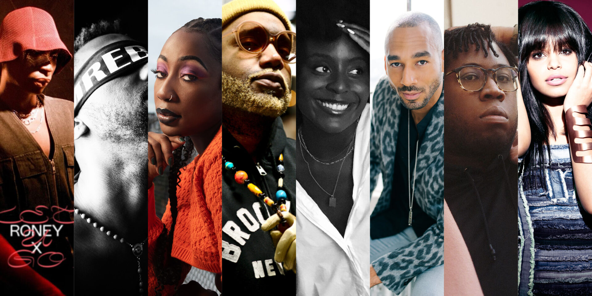 Roney X, IAMRebelWill, Sydanie, Jay Light, Kosa, Robert Ball ,Tafari Anthony, Fefe Dobson