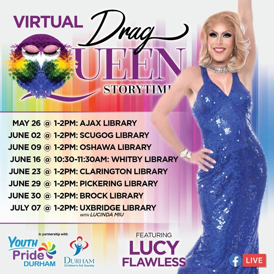 Toronto Drag Queen Storytime Event Posting