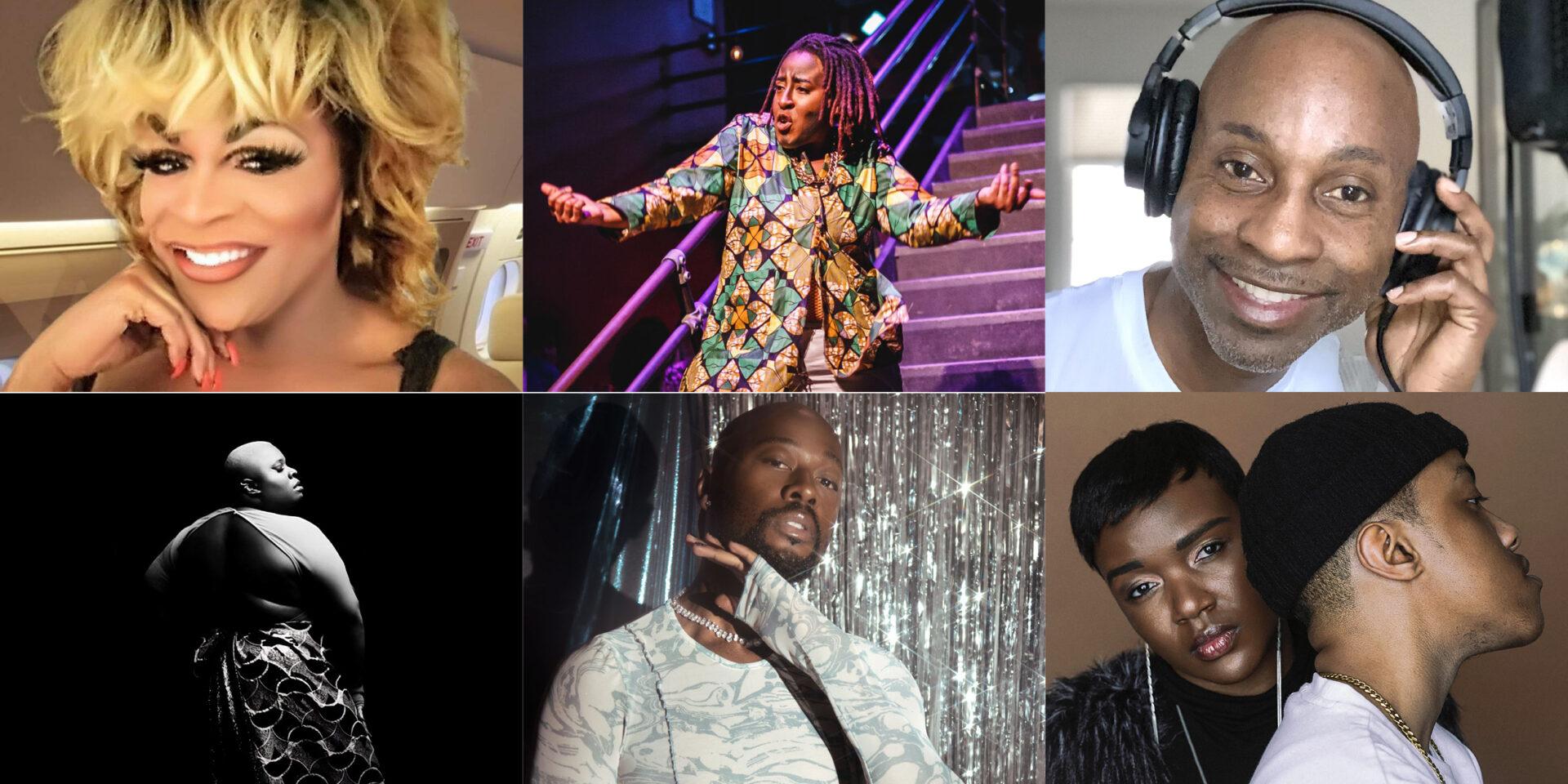 Top: Stephanie Stephens, Buster Highman, DJ Donovan, Bottom: Tika, Desirre, Trp.p