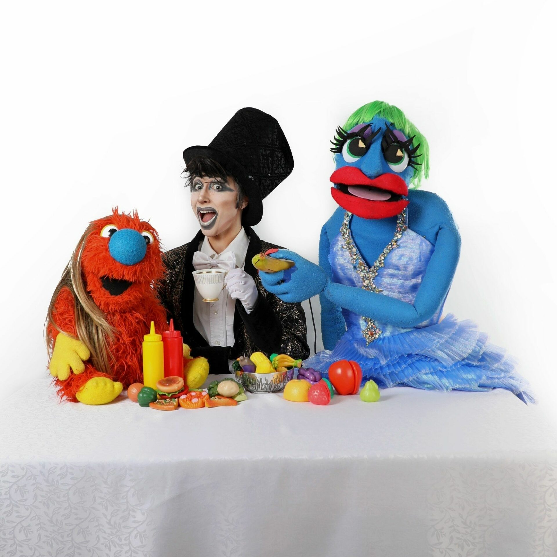 ZacKey Lime with Puppets
