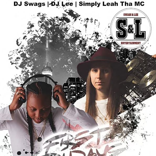 DJ Swags, DJ Lee and Simply Leah Tha MC