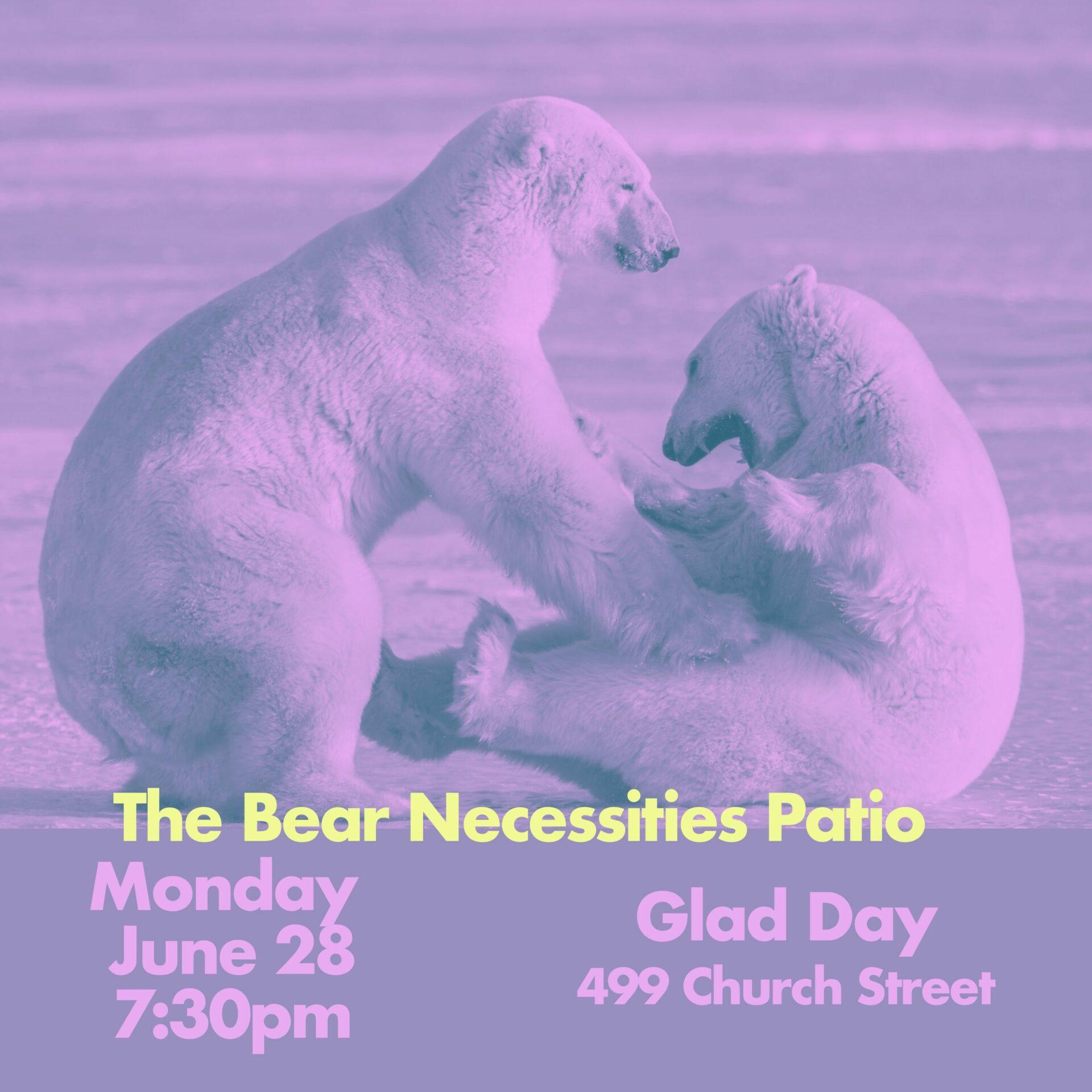 The Bear Necessities Patio