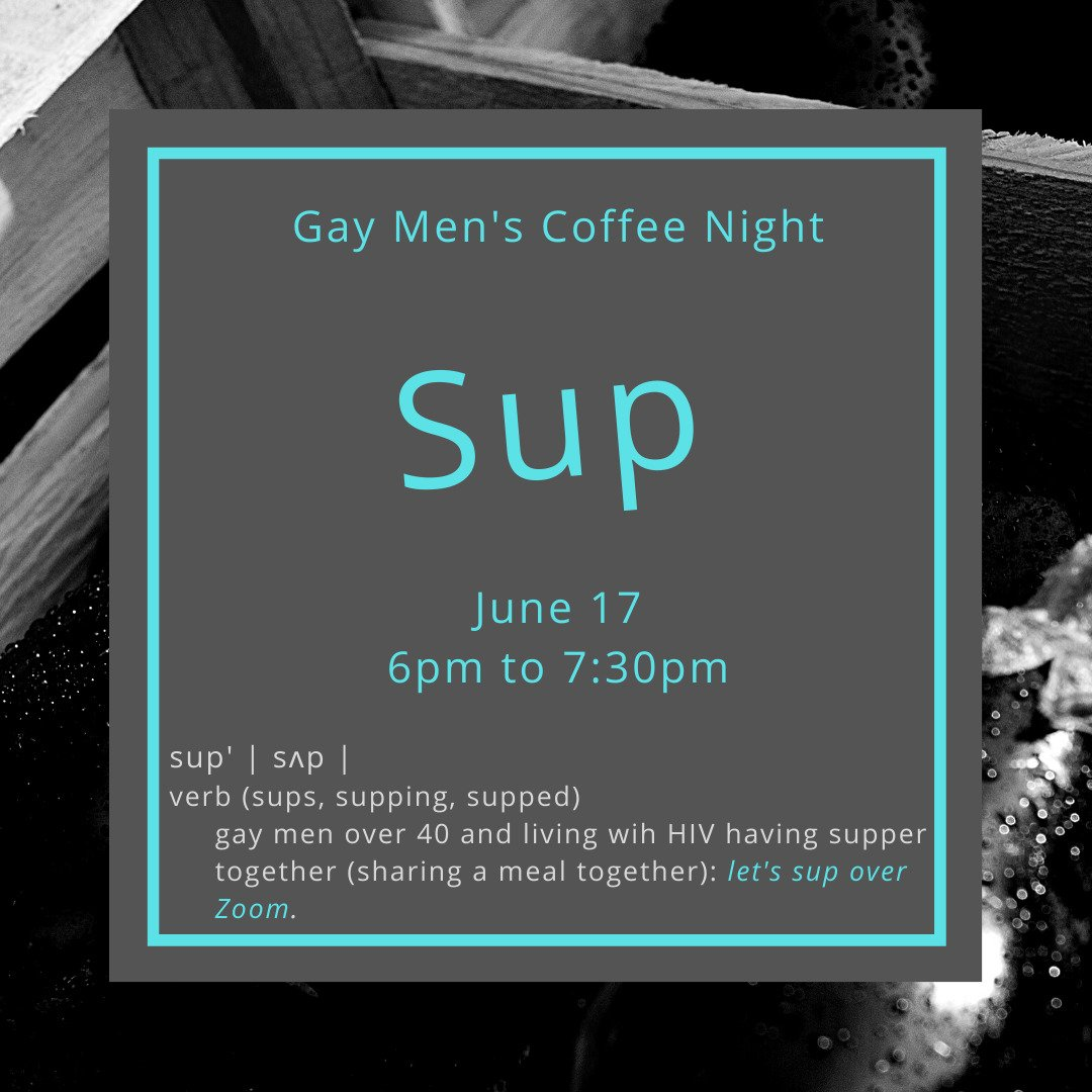 Gay Men's Coffee Night: Sup'