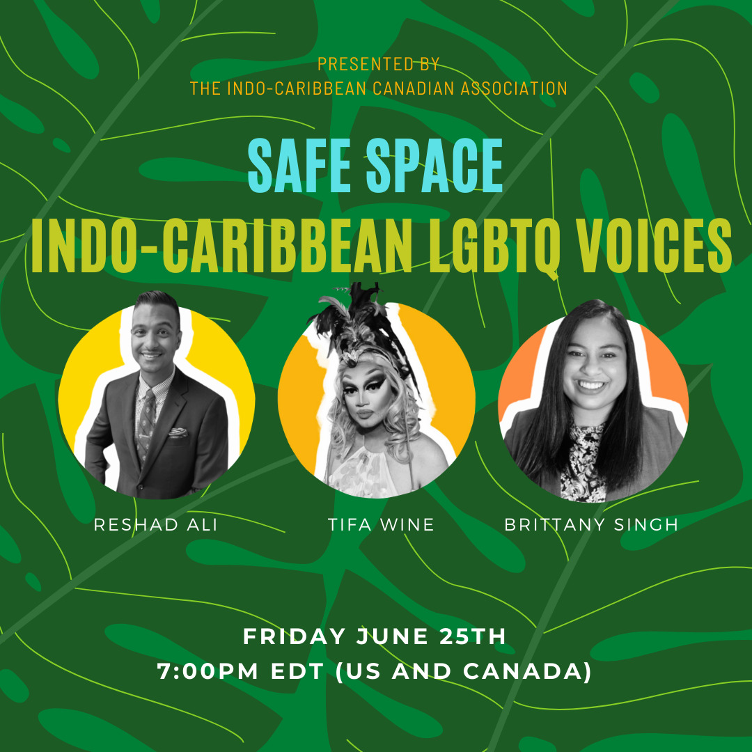 Safe Space Indo-Caribbean LGBTQ Voices